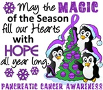 Pancreatic Cancer Christmas Cards and Gifts