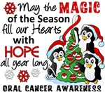 Oral Cancer Christmas Cards and Gifts