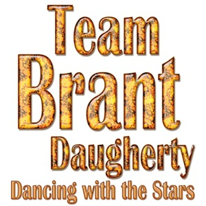 Team Brant Daugherty Dancing with the Stars