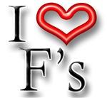 I Heart F Names