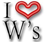 I Heart W Names