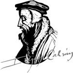 John Calvin Portrait with Signature