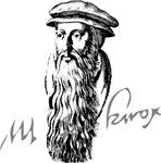 John Knox Portrait with Signature