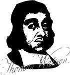 Thomas Watson Portrait with Signature