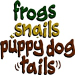 Frogs Snails Puppy Dog Tails