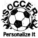 Personalized Soccer Flames