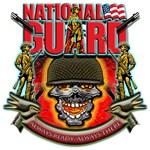 US Army National Guard Skull