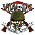 US Army National Guard Skull Helmet