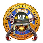 US Army Military Police Skull