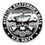 USN Aviation Boatswain's Mate Skull