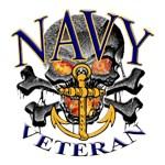 USN Navy Veteran Skull
