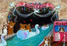 Corgi Tunnel Of Love