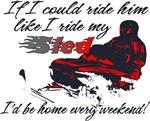 Ride Him Like My Sled