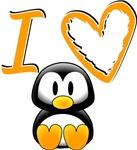 I love (heart) Penguins