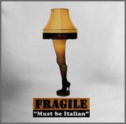 Leg Lamp Christmas Story Fragile Funny Shirt