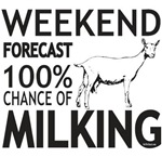 Saanen Dairy Goat Weekend Forecast