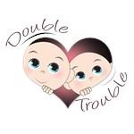 Cute Double Trouble Twins