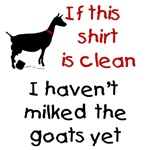 GOAT-Clean Shirt Haven't Milked