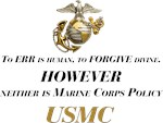 Marine Corps Policy