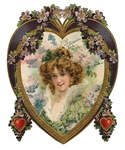 Victorian Valentines With Sincere Love