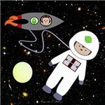 Space Monkeys Walk