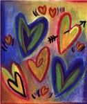 Valentine's Day Pastel Hearts