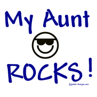 My Aunt Rocks Blue Shirts