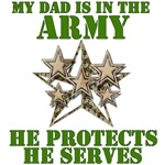 Army Dad Protects And Serves