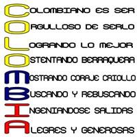 Acróstico Colombia