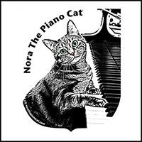 Nora The Piano Cat™ w/Cocked Head