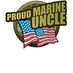 Marine Uncle T-Shirts