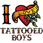 Tattoed Boys T-Shirts