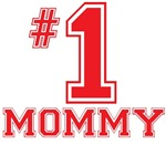 #1 Mommy T-Shirts