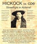 Hickock vs. Coe