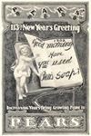 1902 New Years Greeting