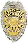 Stockton Police Badge