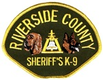 Riverside Sheriff K9