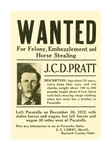 J. C. D. Pratt Wanted