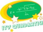 It's Quadratic