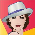 Pop Art Woman Ingrid