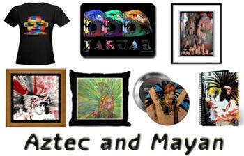 Aztec & Mayan Artwork