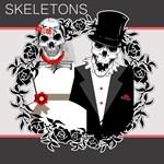Skulls Theme Wedding