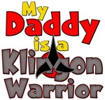 My Daddy Is A Klingon Warrior