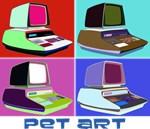 PET Computer Art