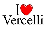 I Love (Heart) Vercelli, Italy