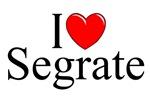 I Love (Heart) Segrate, Italy