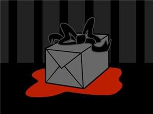 Evil Gift Box Present