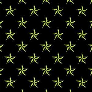 Star Pattern Green