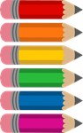 Cute Rainbow Pencils