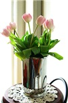 Pink Tulip Bouquet Cards Gifts T-shirts